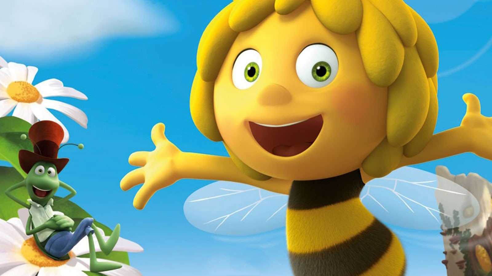 Maya the Bee | Character & Set Design