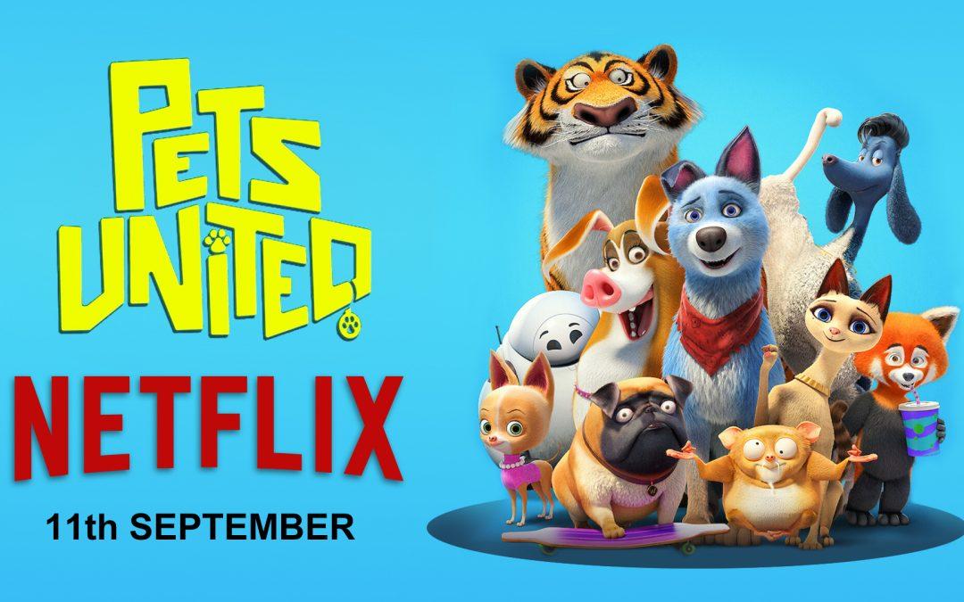 Netflix-Start von Pets United